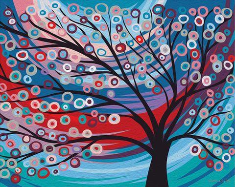 "Картина по номерам ""Сказочное дерево"" (400х500 мм) — фото, картинка"