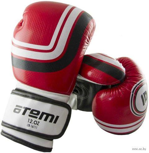 Перчатки боксёрские LTB-16111 (S/M; красные; 6 унций) — фото, картинка