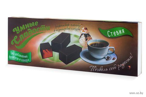"""Конфеты желейные в глазури """"Умные сладости. Со вкусом кофе-пломбир"""" (110 г) — фото, картинка"""