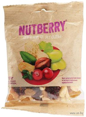 """Смесь """"Nutberry. Орехи и ягоды"""" (50 г) — фото, картинка"""