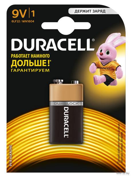 Батарейка DURACELL 9V 6LR61