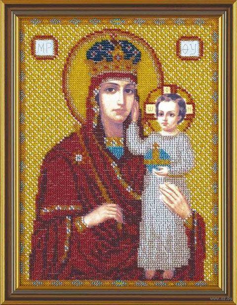 "Вышивка бисером ""Богородица. Призри на смирение"" (165х120 мм)"