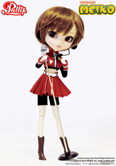 "Коллекционная кукла VOCALOID ""Pullip — Meiko"" (26 см) — фото, картинка"