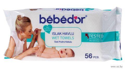 """Салфетки влажные детские """"Bebe D`or"""" (56 штук)"""