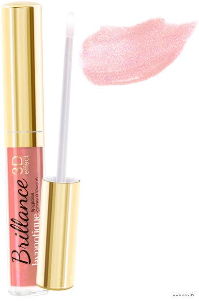 """Блеск для губ """"Brillance hypnotique 3D"""" (тон: 49, бежево-розовый)"""
