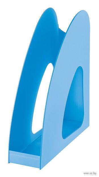 """Лоток для бумаги вертикальный """"Loop"""" (светло-синий)"""