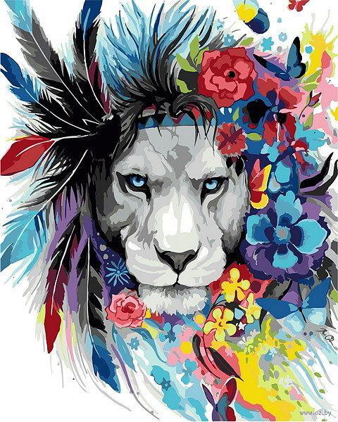 "Картина по номерам ""Царь цветов"" (500х400 мм) — фото, картинка"