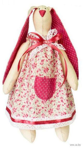 """Набор для шитья из ткани """"Кукла. Зайка Кирочка"""" — фото, картинка"""