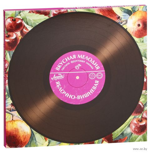 """Пастила """"Вкусная мелодия. Яблоко-вишня"""" (100 г) — фото, картинка"""