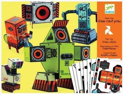 """Оригами простое """"Роботы"""""""