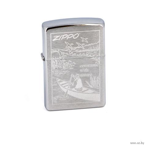 Зажигалка Zippo 200 Row Boat — фото, картинка