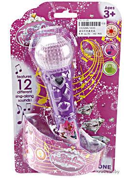 """Музыкальная игрушка """"Микрофон"""" (арт. 1033B; со световыми эффектами)"""