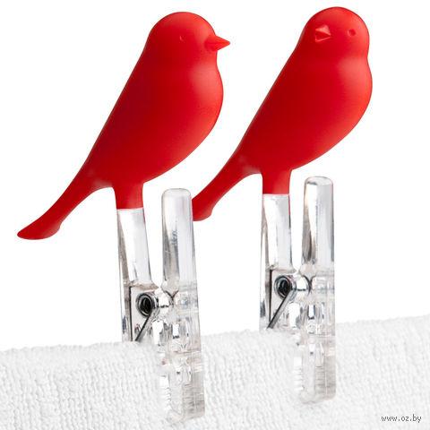 """Прищепки """"Sparrow"""" (красные)"""