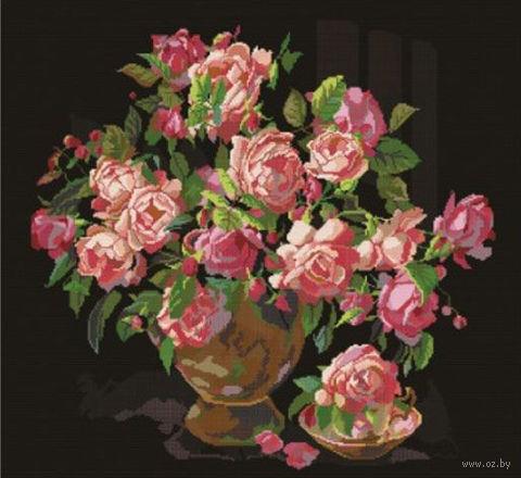 """Вышивка крестом """"Букет роз"""""""