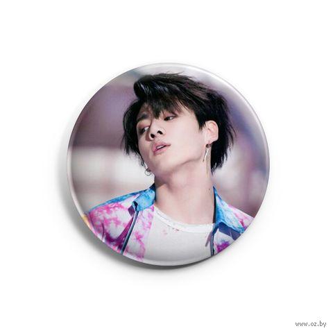"Значок маленький ""BTS. Jungkook"" (арт. 566) — фото, картинка"