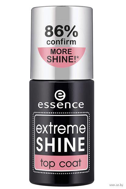 """Верхнее покрытие для ногтей """"Extreme Shine Top Coat"""" тон: прозрачный — фото, картинка"""