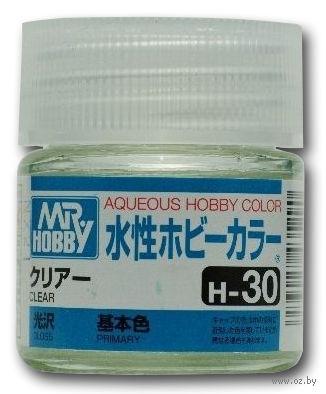 Краска Aqueous Hobby Color водоразбавляемая (clear, H-30)