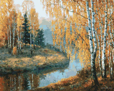 "Картина по номерам ""Вот и осень пришла"" (400х500 мм)"