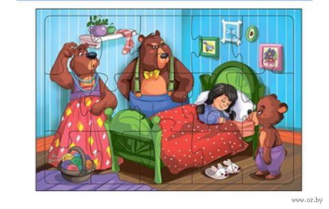 "Пазл-рамка ""Три медведя"" (24 элемента)"