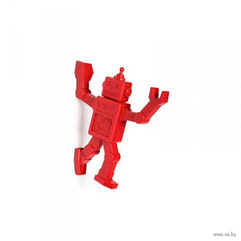 """Магнитный крючок для холодильника """"Robohook"""" (красный)"""