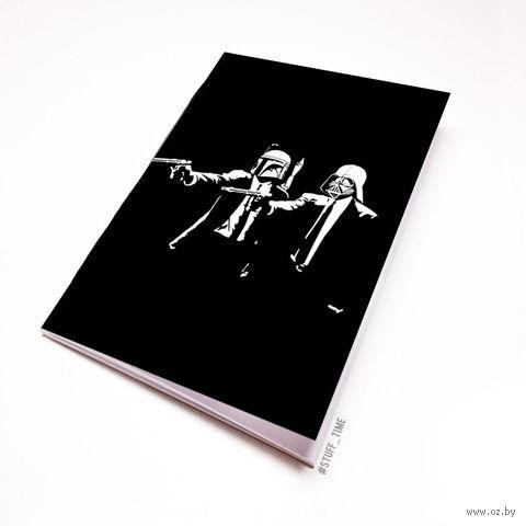 """Блокнот """"Звездные войны. Криминальное чтиво"""" (А5) — фото, картинка"""