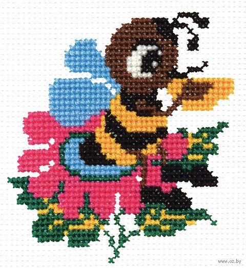 "Вышивка крестом ""Пчелка"""