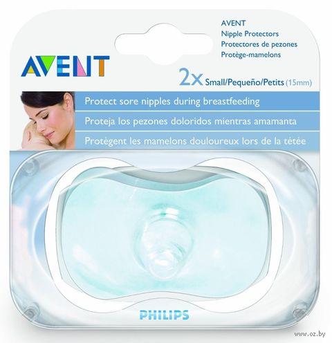 Накладки на сосок силиконовые (2 шт.; размер S) — фото, картинка