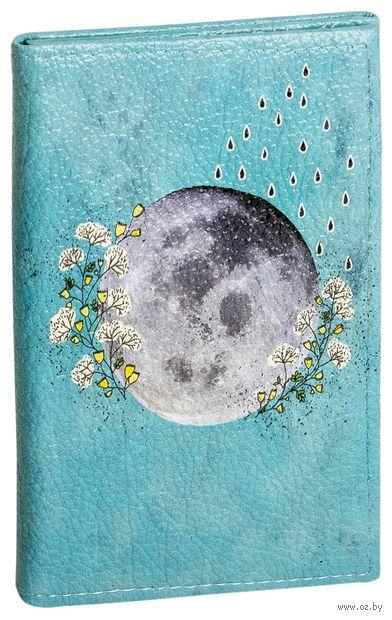 """Обложка на паспорт и права """"Луна"""""""