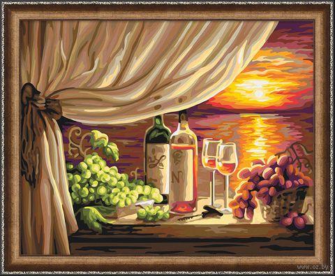 "Картина по номерам ""Итальянский ужин"" (400х500 мм) — фото, картинка"