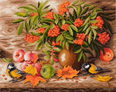 "Алмазная вышивка-мозаика ""Осенний натюрморт"" (400х500 мм) — фото, картинка"