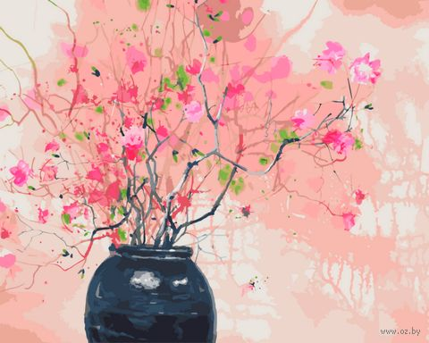 "Картина по номерам ""Запахи весны"" (400х500 мм) — фото, картинка"
