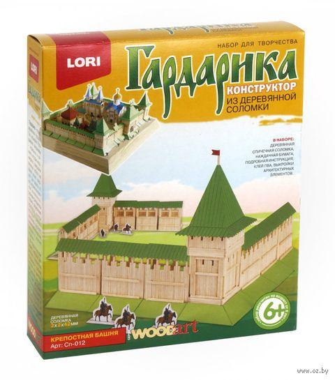 """Сборная деревянная модель """"Гардарика. Крепостная башня"""" — фото, картинка"""