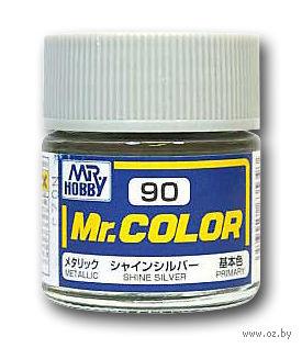 Краска Mr. Color (shine silver, C90)