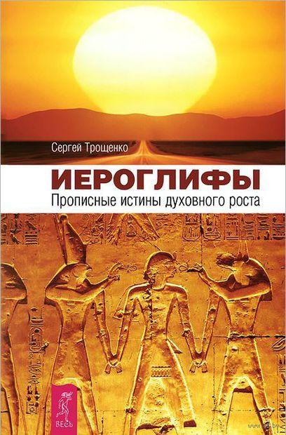 Иероглифы. Прописные истины духовного роста. Сергей Трощенко