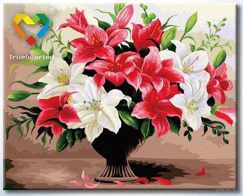 """Картина по номерам """"Лилейный шик"""" (400x500 мм; арт. HB4050223)"""