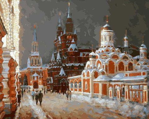 """Картина по номерам """"Перед Рождеством"""" (400х500 мм) — фото, картинка"""