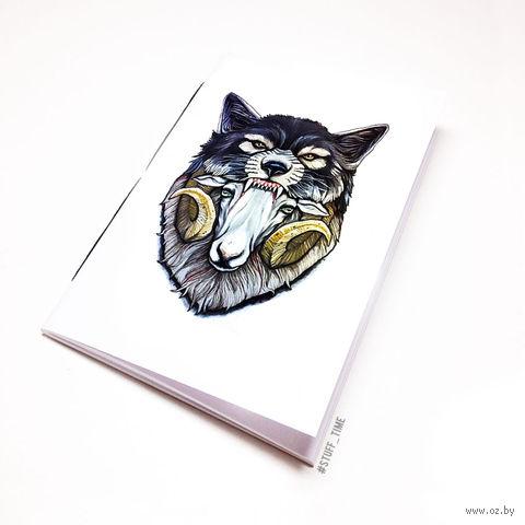 "Блокнот ""Баран в волчьей шкуре"" (А5; арт. 799) — фото, картинка"