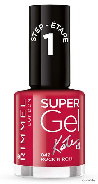 """Гель-лак для ногтей """"Super Gel"""" (тон: 042)"""