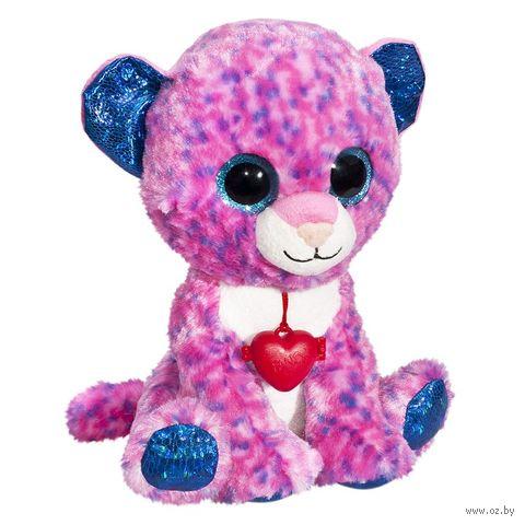 "Мягкая игрушка ""Глазастики. Леопард"" (16 см) — фото, картинка"