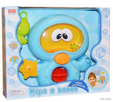 """Набор игрушек для купания """"Инопланетянин с друзьями"""""""