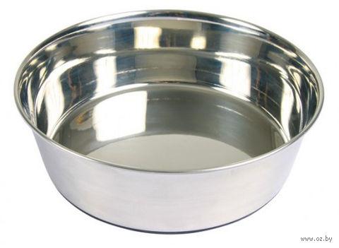 Миска для собак металлическая (0,5 л)