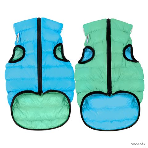 "Куртка ""Lumi"" (27 см; салатово-голубая) — фото, картинка"