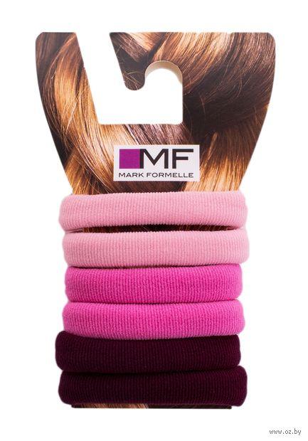 "Резинка для волос ""805K-376"" (6 шт.; ярко-розовый) — фото, картинка"