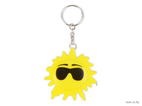 """Брелок-рулетка """"Солнце"""" (1 м)"""