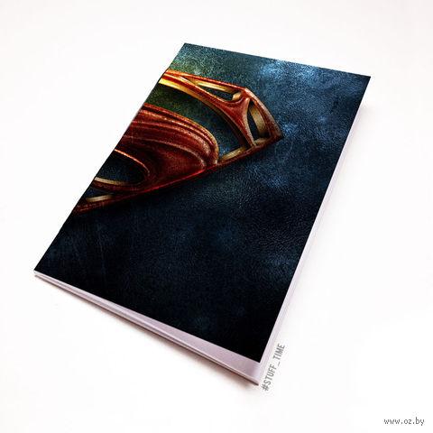 "Блокнот белый ""Супермэн"" А5 (421)"