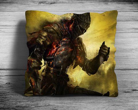 """Подушка """"Dark Souls"""" (арт. 1; 28х28 см) — фото, картинка"""