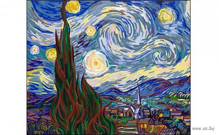 "Картина по номерам ""Ван Гог. Звездная ночь"" (400x500 мм) — фото, картинка"