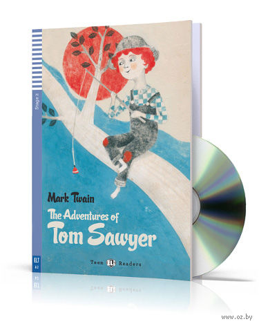 Teen Eli Readers. The Adventures of Tom Sawyer (+ CD) — фото, картинка