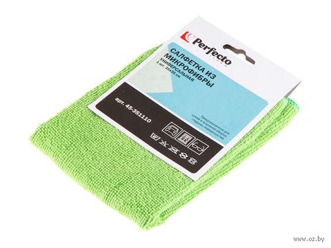 Салфетка для уборки из микрофибры (350х350 мм) — фото, картинка