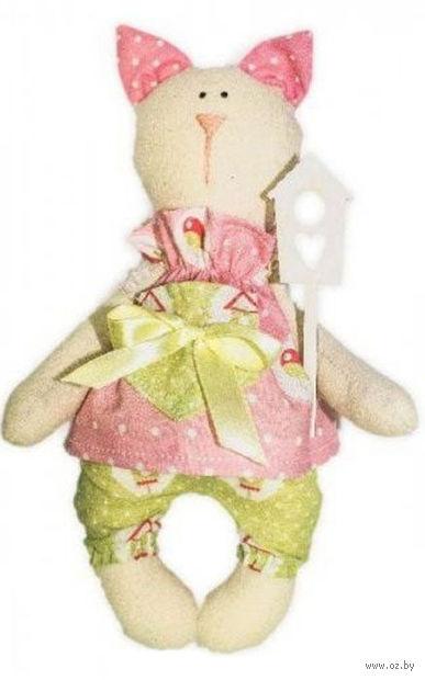 """Набор для шитья из ткани """"Кукла. Кошка Тася"""" — фото, картинка"""